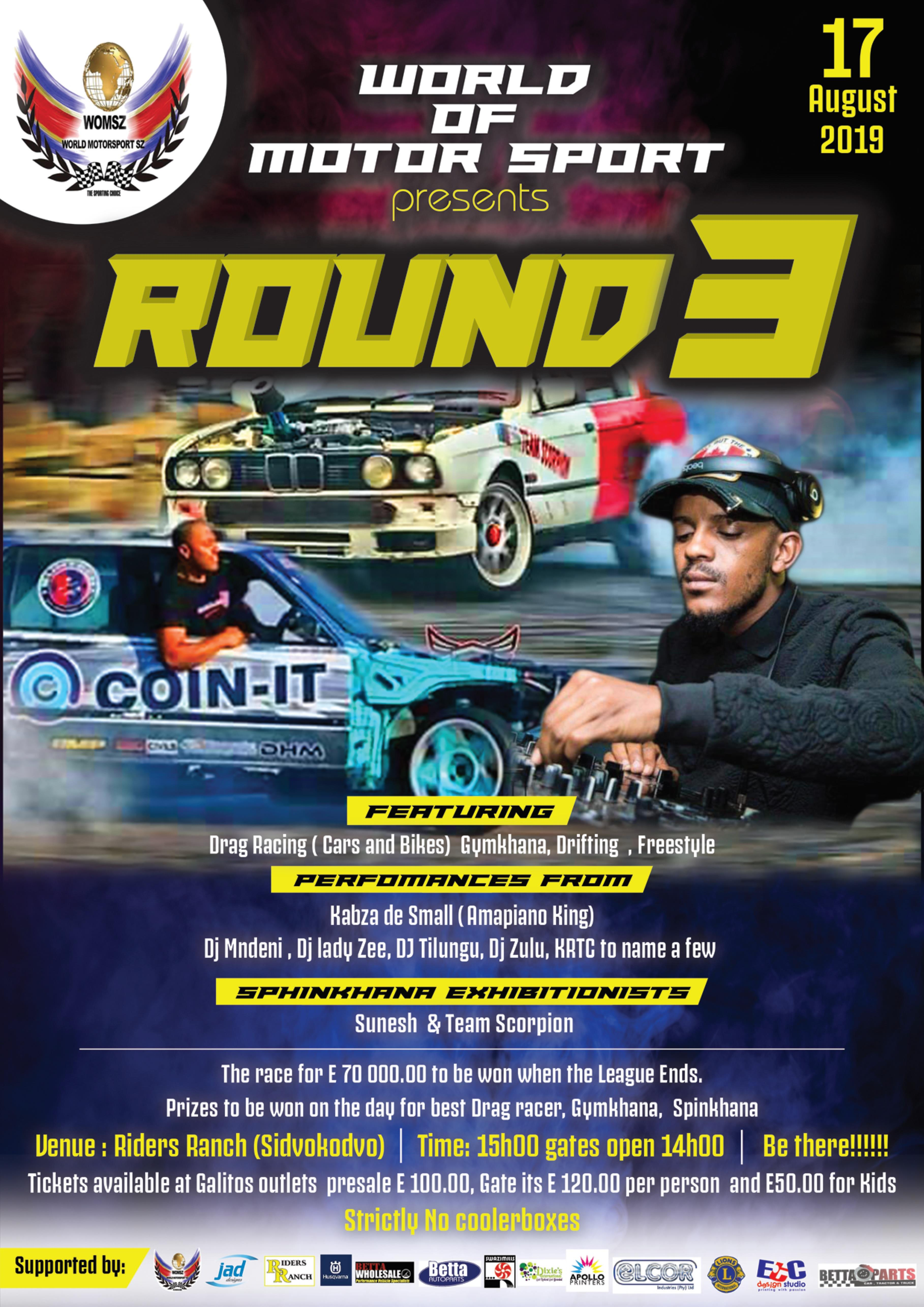 Eswatini World of Motor Sport - Round 3 Pic