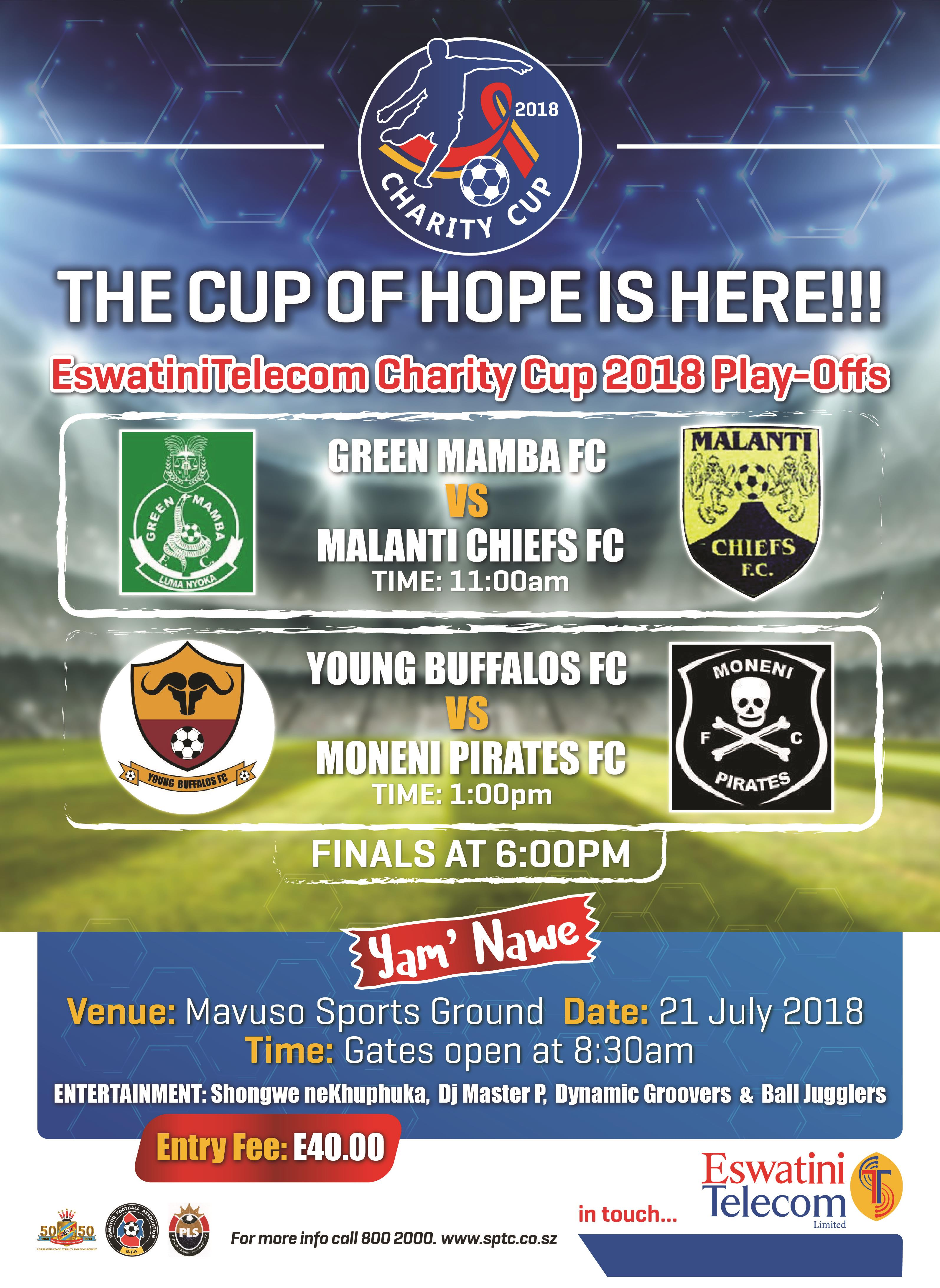 EswatiniTelecom Charity Cup 2018 Play-Offs