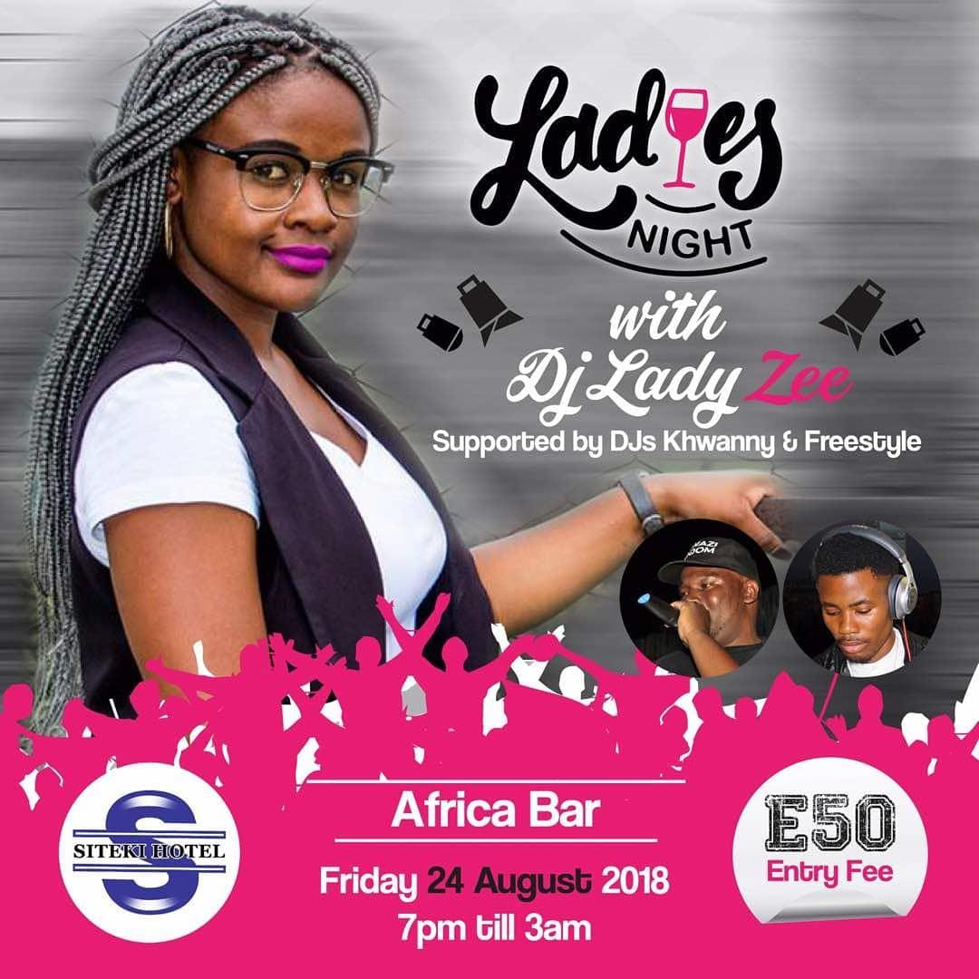 Ladies Night with DJ Lady Zee