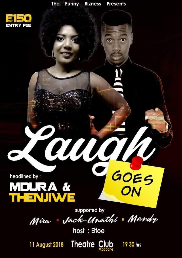 Laugh Goes On with Mdura and Thenjiwe