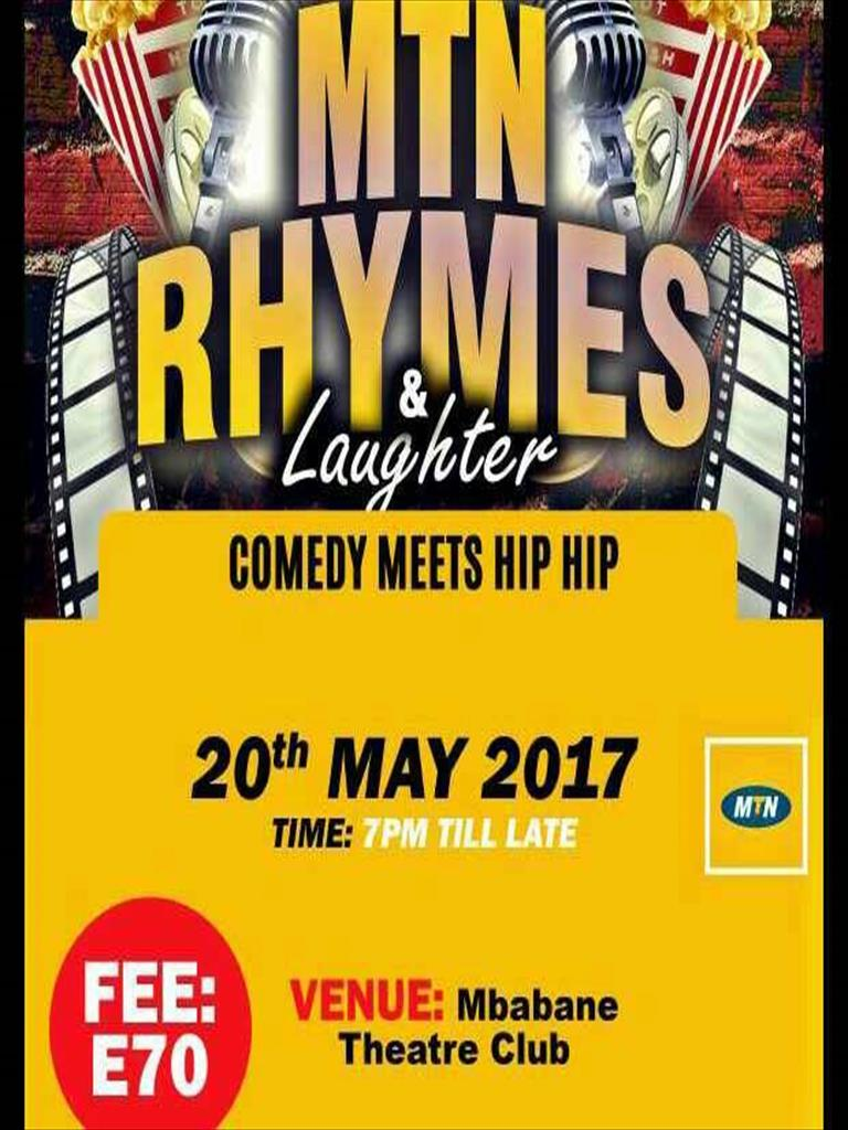 MTN Rhymes and Laughter At Mbabane Theatre Club