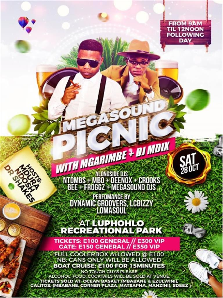 MegaSound Picnic with Mgarimbe and DJ MDIX