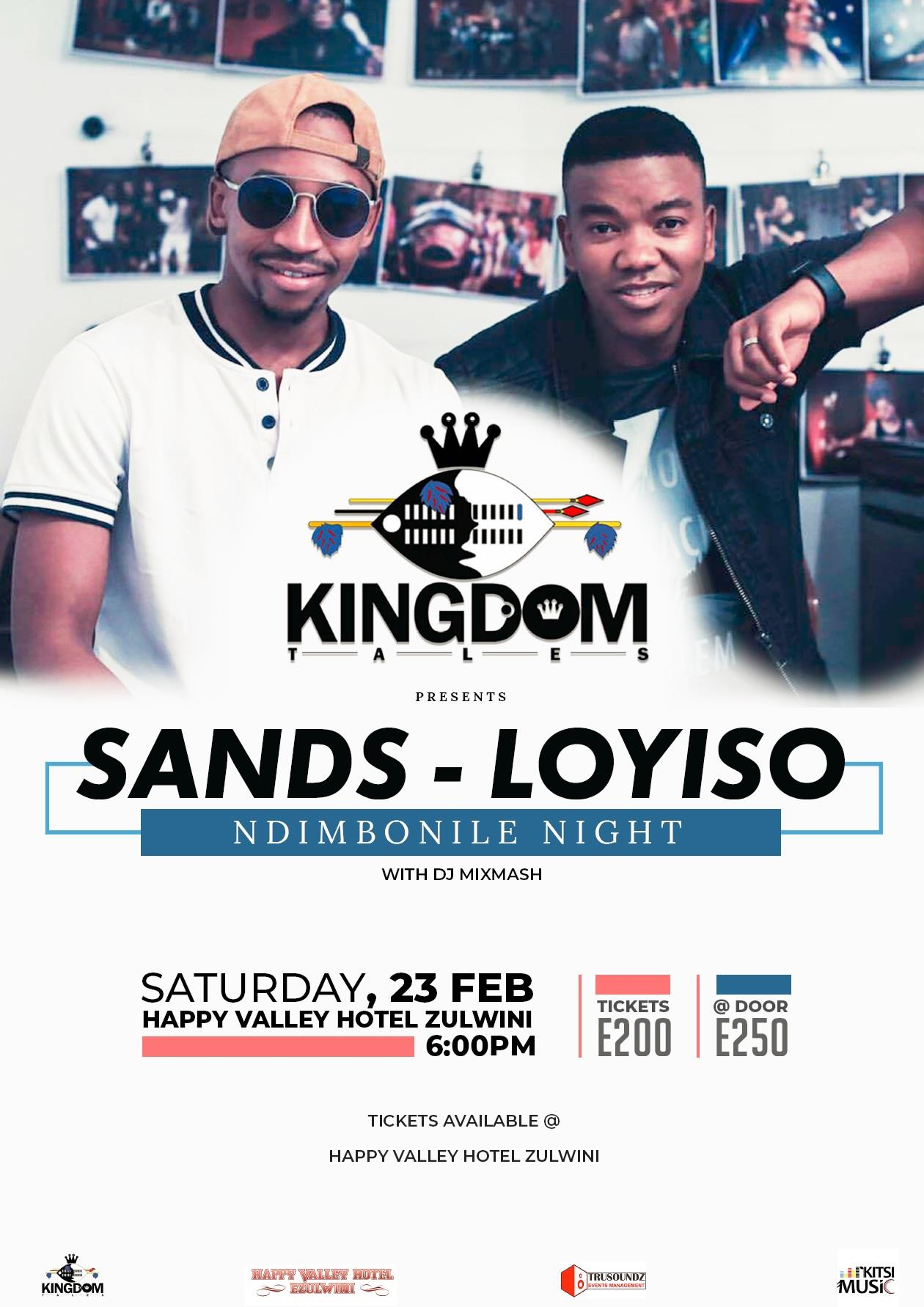 Ndimbonile Night with Sands and Loyiso