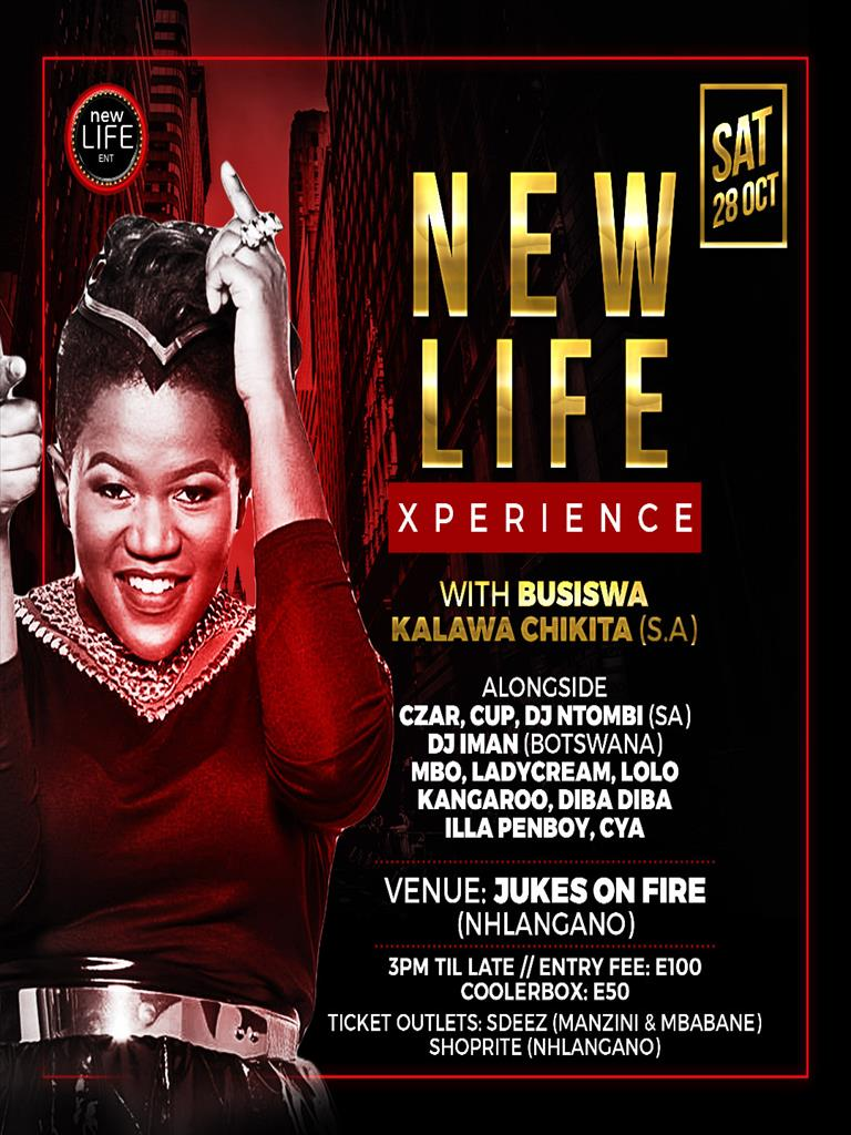 New Life Experience with Busiswa Kalawa Chikita