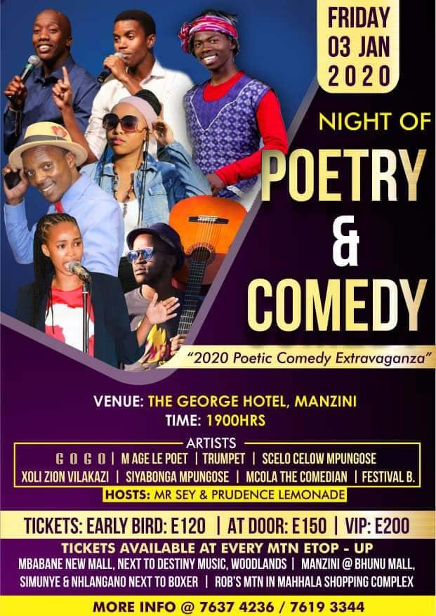 Night of Poetry and Comedy