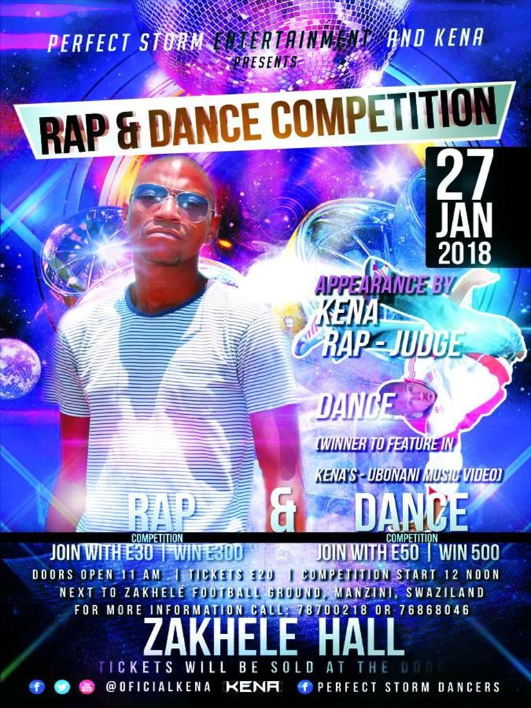 Rap and Dance Competition