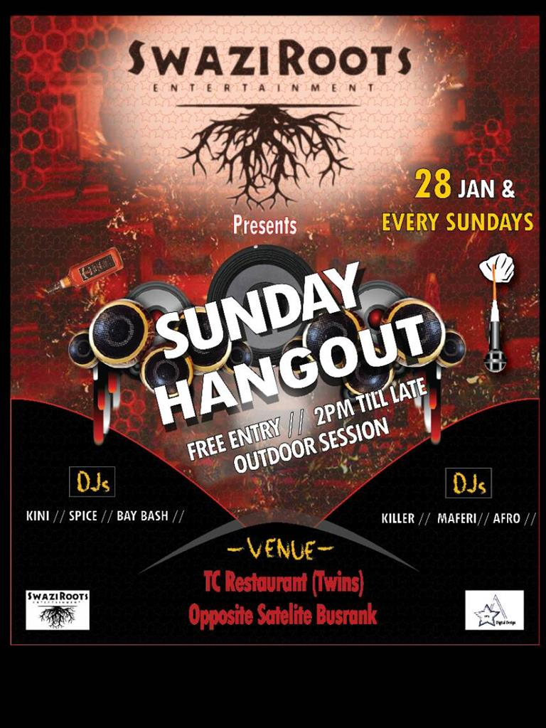 Sunday Hangout with SwaziRoots