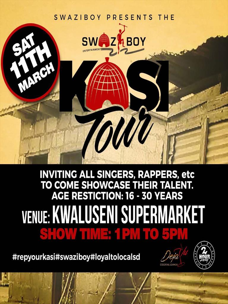 Swaziboy Kasi Tour at Kwaluseni Supermarket