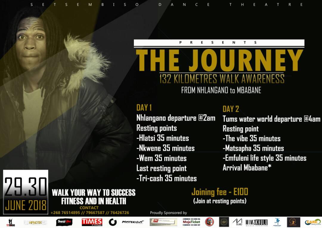 The Journey 132Km Walk Awareness