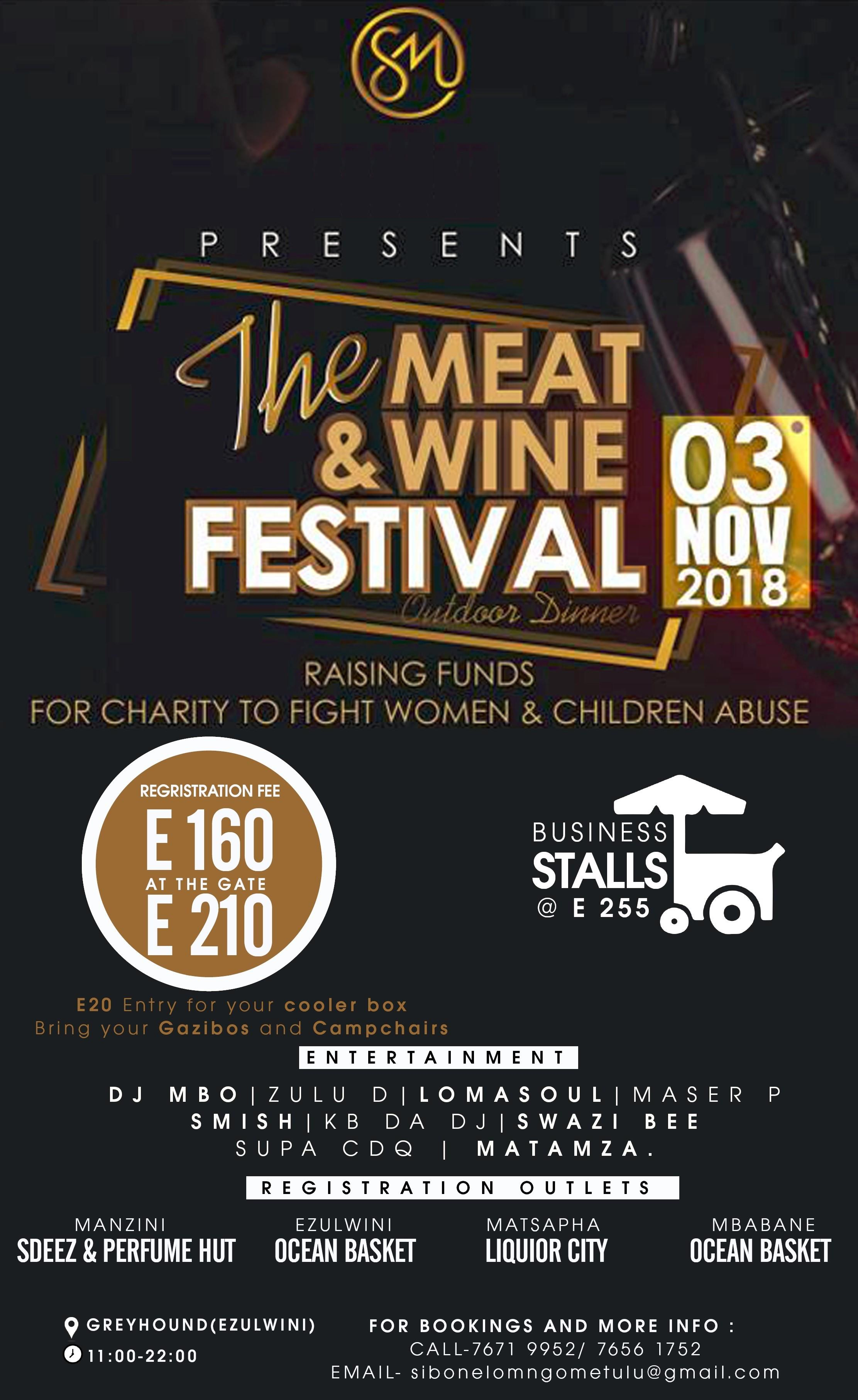 The Meat and Wine Festival