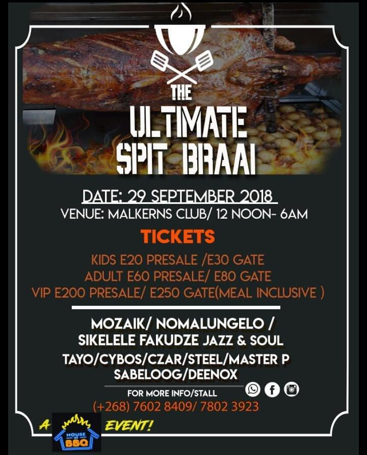 The Ultimate Spit Braai