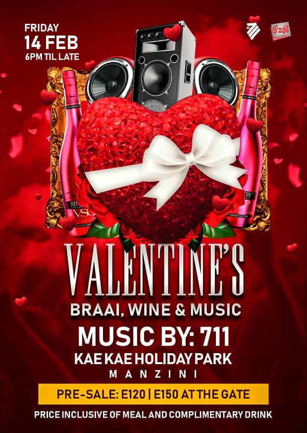 Valentines Braai Wine And Music Pic
