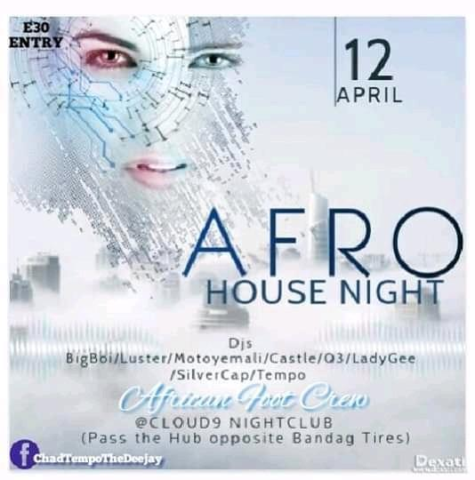 AFRO House Night