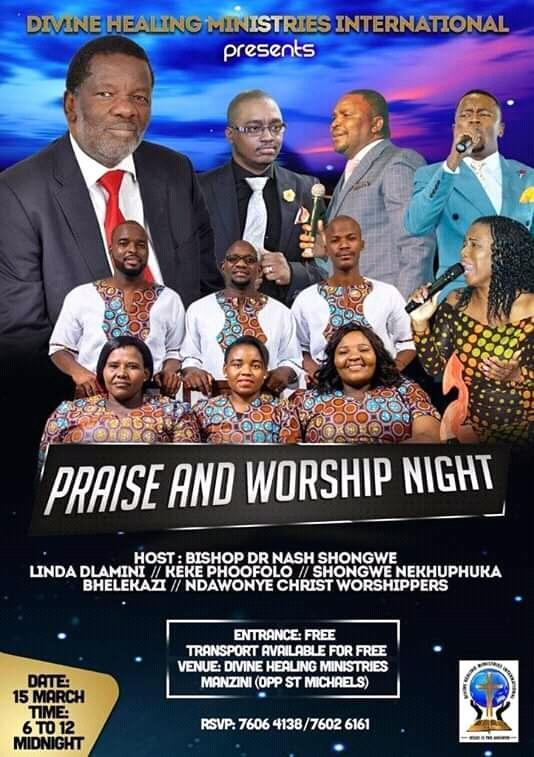 Praise And Worship Night Pic