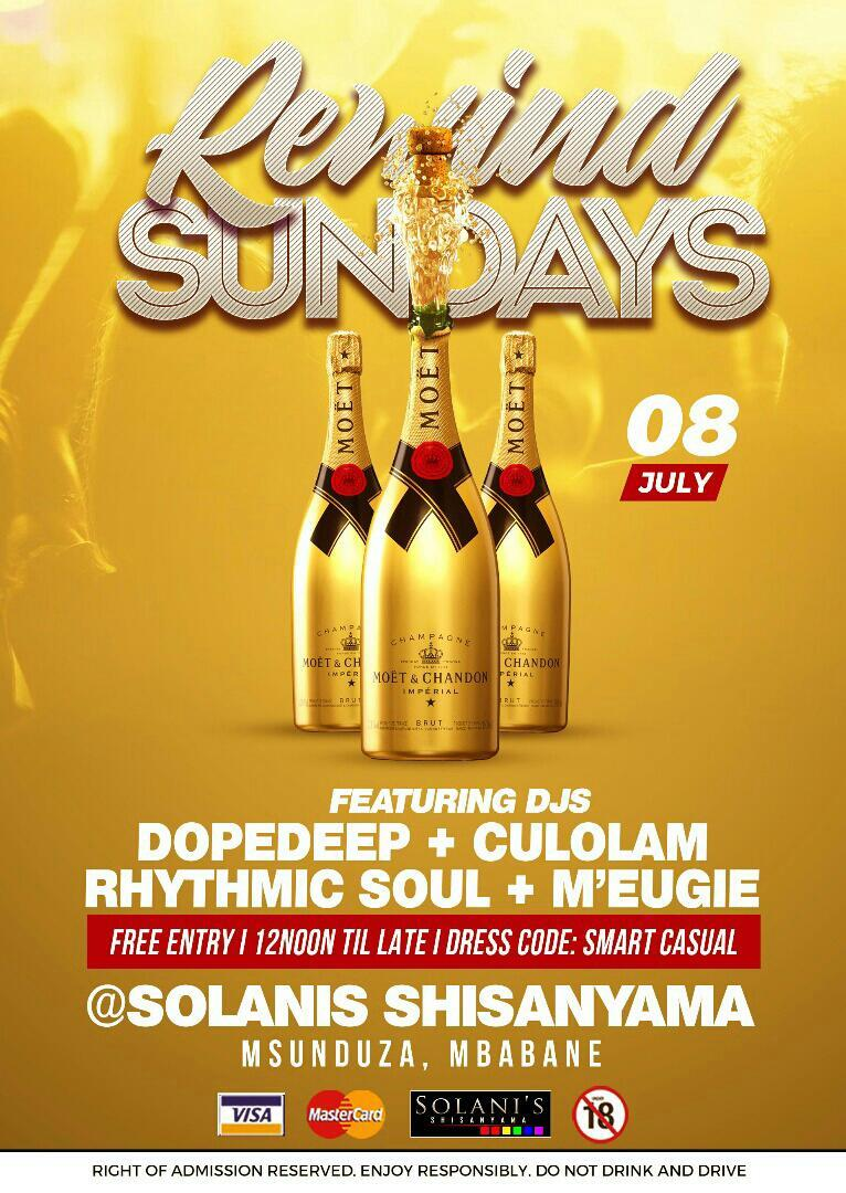 Rewind Sundays Ft Dopdeep And Culolam