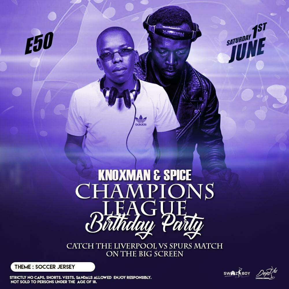 Champions League Birthday Party