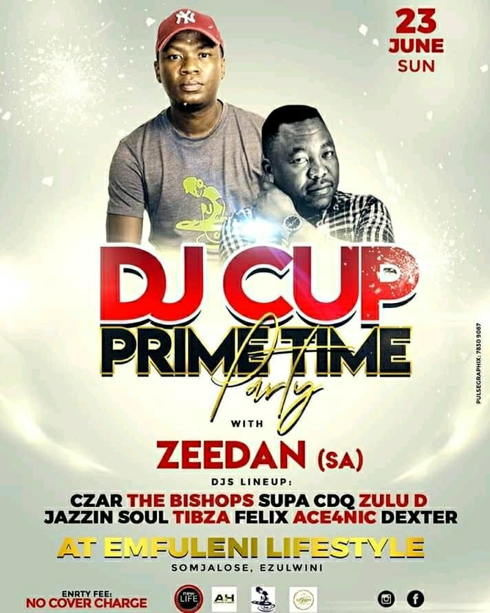 Dj Cup Prime Time Party