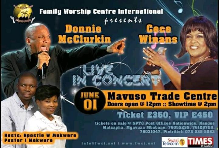 Donnie McClurkin And Cece Winans Live In Concert