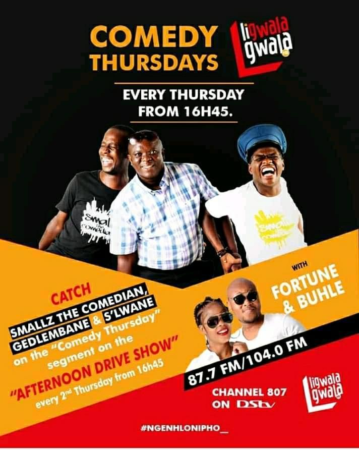 Ligwalagwala Comedy Thursdays Pic