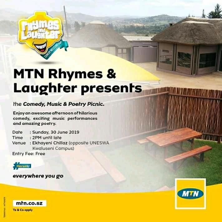 MTN Rhymes and Laughter Prevents The Comedy Music and Poetry Picnic