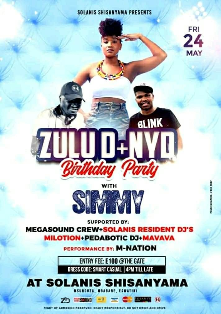 Zulu D And NYD Birthday Party